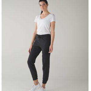 Lululemon Kick It Sweatpant Heathered Black Size 2